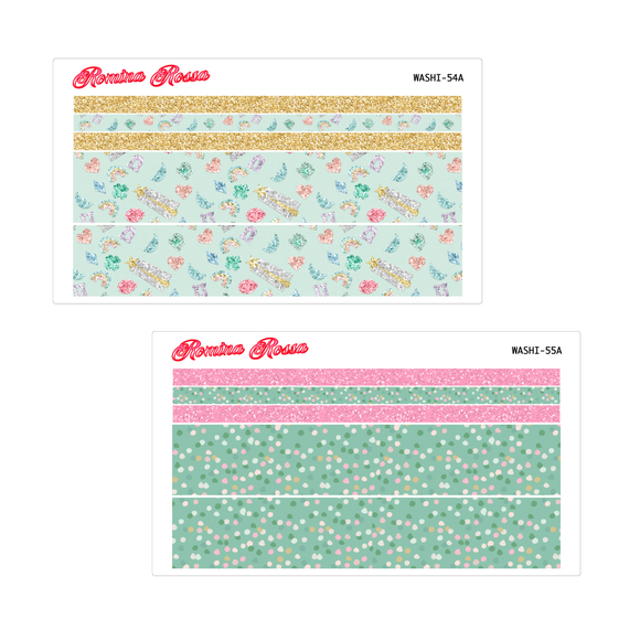 March Washi Kit | 7x9, 8.5x11 & Petite Monthly