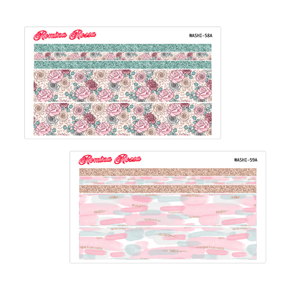 May Washi Kit | 7x9, 8.5x11 & Petite Monthly