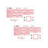 Neutral Budget Kit | 7x9 8.5x11 & Petite Monthly Planner