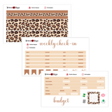 Neutral Deluxe Budget Kit | 7x9, 8.5x11 & Petite Monthly Planner