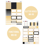 New Year's Eve - Weekly Sticker Kit Sheets