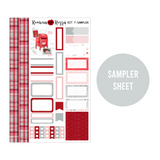 Letters to Santa - Weekly Sticker Kit Sheets