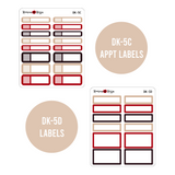 Cozy Christmas - Daily Planner Stickers