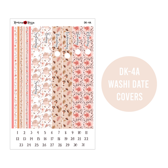 Floral Leopard - Daily Planner Stickers
