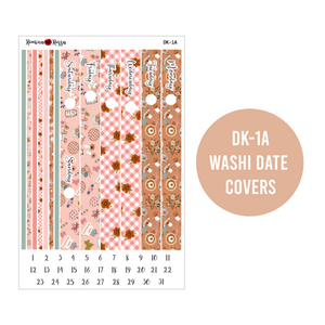 Gingham Thanksgiving - Daily Planner Stickers
