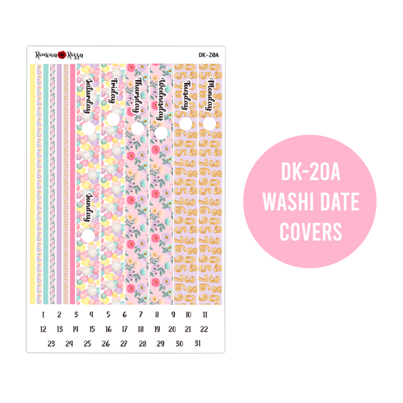 Happy Birthday - Daily Planner Stickers