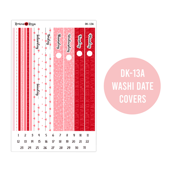 Love - Daily Planner Stickers