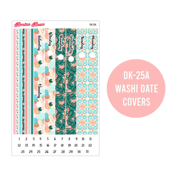 Relax in Paradise - Daily Planner Stickers