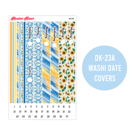 Sunshine & Happiness - Daily Planner Stickers