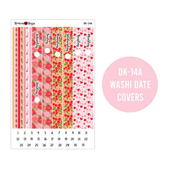 Valentine's Day - Daily Planner Stickers