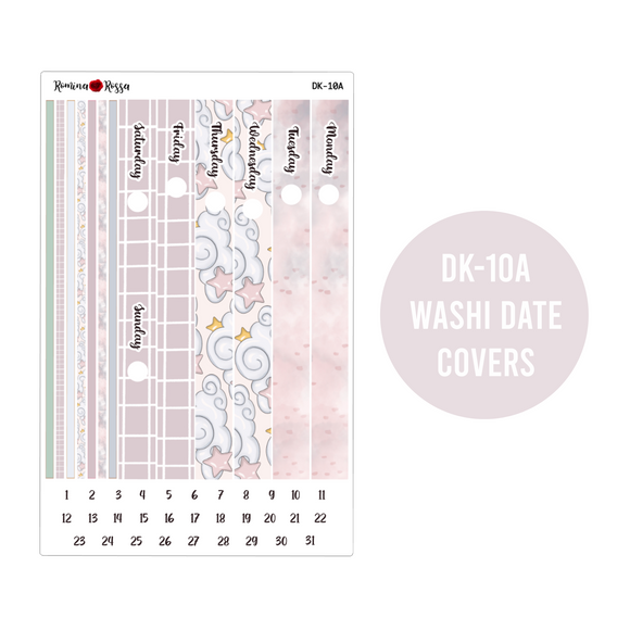 Winter Nights - Daily Planner Stickers