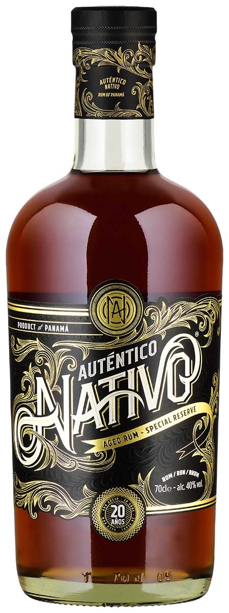 Auténtico Nativo Rum 20 Years