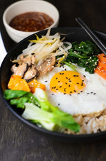 Bibim Bop Korean Rice Bowl