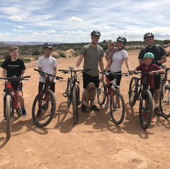 Tumtree team on bikes