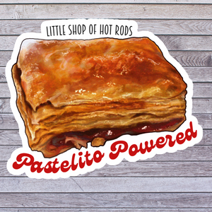 Pastelito Powered - Bubble-free car stickers