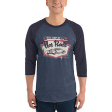 Load image into Gallery viewer, Retro Style - 3/4 sleeve unisex raglan shirt