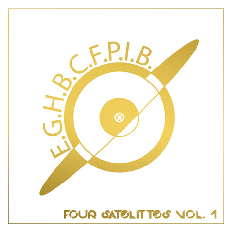 EARTH GIRL HELEN BROWN - Four Satellites Vol. 1 double LP/CD