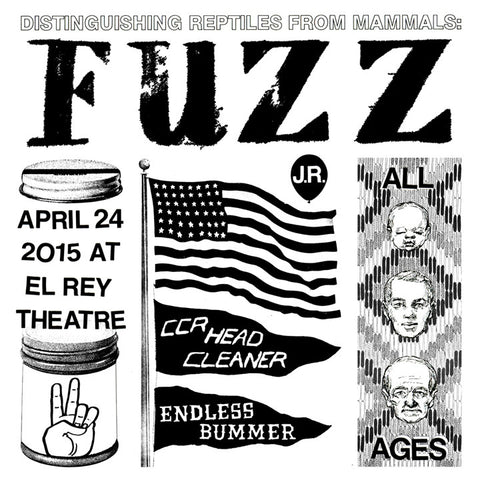 Fuzz Limited Edition Show Poster