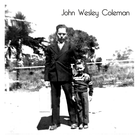John Wesley Coleman/Whisper Mountain b/w Everything's Gone Grey