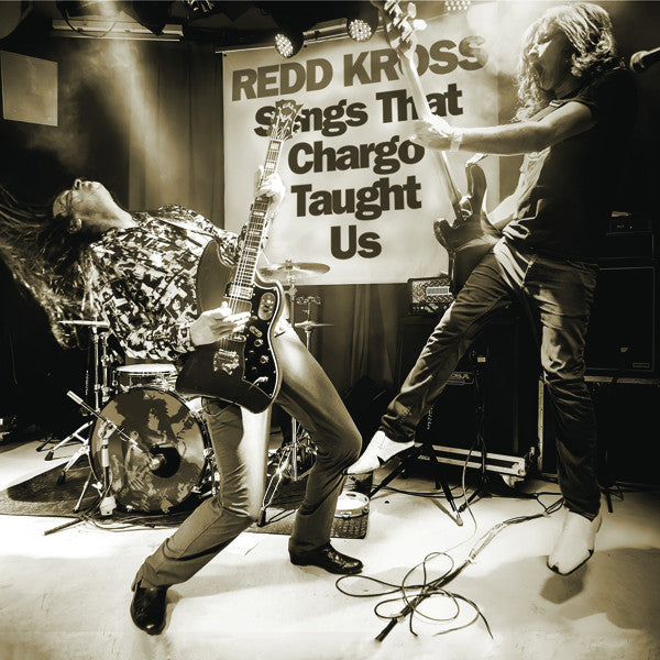 "REDD KROSS / THE SIDE EYES - ""Songs That Chargo Taught Us"" split 7"""
