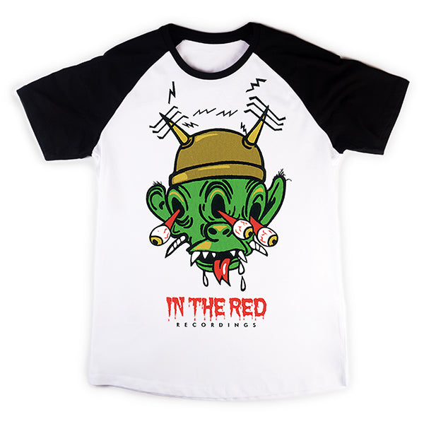 In The Red Monster Head Baseball Tee