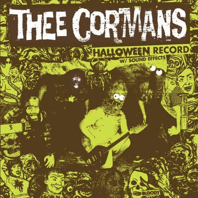 Thee Cormans/Halloween album w/ sound effects