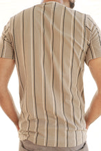 Load image into Gallery viewer, Signature Striped T-shirt