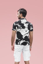 Load image into Gallery viewer, Black Abstract Print Shirt