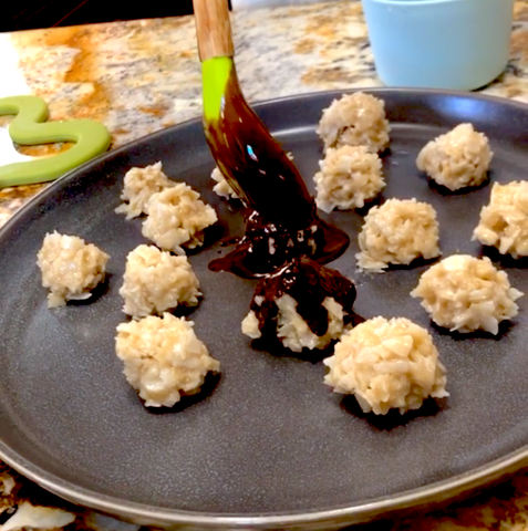Vegan Chocolate and Coconut Macaroons