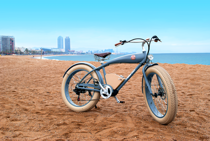 RAYVOLT AUSTRALIA Beachin' Blue Electric Bike