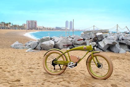 RAYVOLT AUSTRALIA Beachin' Green Electric Bike