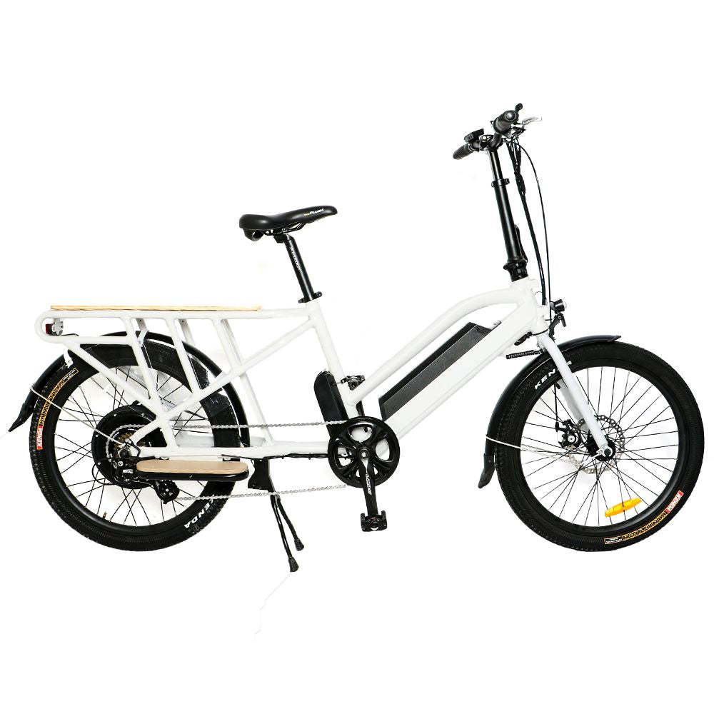 "The EUNORAU 24"" City Tire Model MAX-CARGO E-Bike"