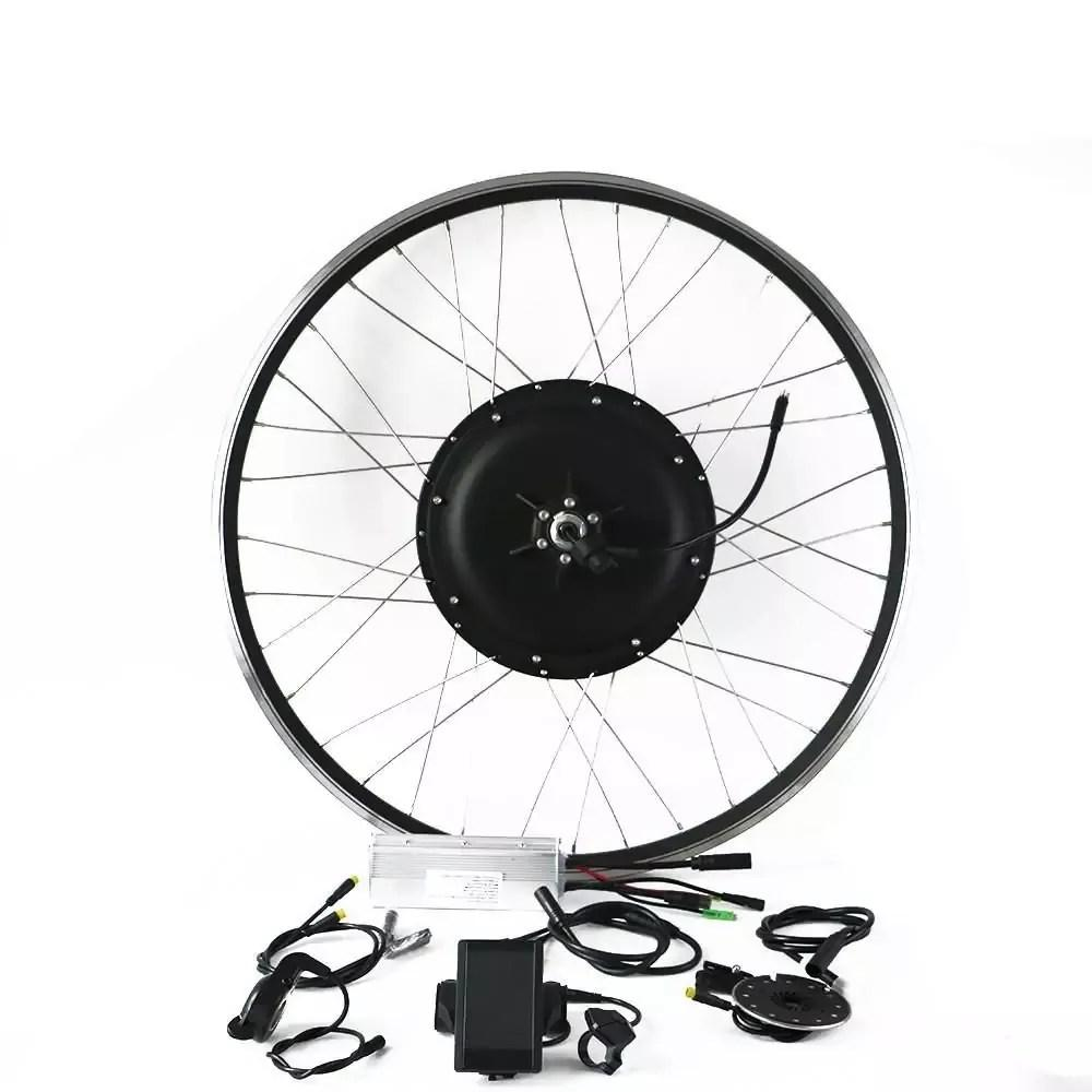 EUNORAU ENA 48V1000W Conversion Rear Hub Motor Kits E-Bike