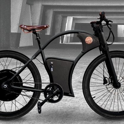 RAYVOLT AUSTRALIA Torino Grey Electric Bike