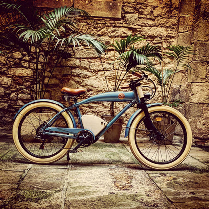 RAYVOLT AUSTRALIA Clubman Blue Electric Bike