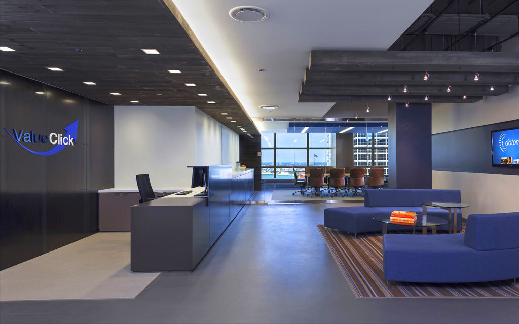 Top 10 coolest office spaces for Medical office paint colors