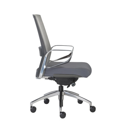 Modern Adjustable Gray Mesh Office Chair