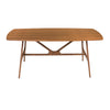 American Walnut Executive Desk w/ Mid-Century Design