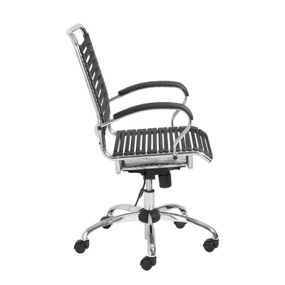 Sturdy & Reliable Black Bungee Office Chair