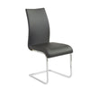 Extra Tall Black Leatherette Guest or Conference Chair (Set of 4)