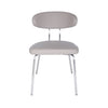 Taupe Oval-Backed Guest or Conference Chair (Set of 4)