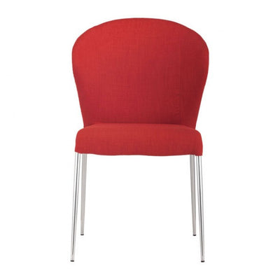 Tangerine Guest or Conference Chair w/ Curved Back (Set of 4)