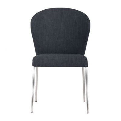 Graphite Guest or Conference Chair w/ Curved Back (Set of 4)