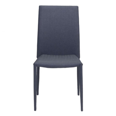 Black Austere Guest or Conference Chair (Set of 4)