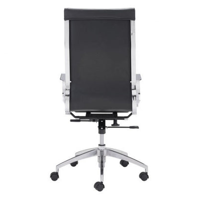 Black High-Back Ergonomic Office Chair