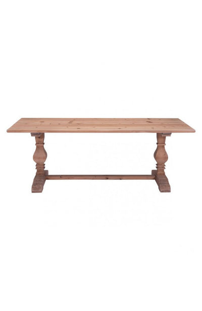 "84"" Solid Fir Conference Table with Optional Credenza"