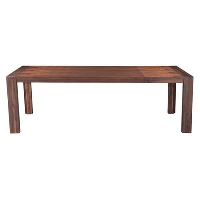 "75"" - 94"" Classic Acacia Wood Extension Executive Office Desk or Conference Table"