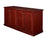"72"" Premium Storage Credenza in Mahogany Finish"