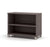 Simple Bark Gray Bookcase with Adjustable Shelf