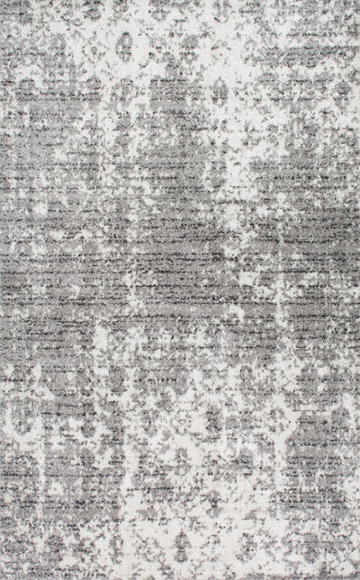 Grey Distressed Office Rug (Multiple Sizes Available)